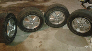 Set of Four Ford Escape Rims and Tires