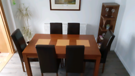Dining table and chairs *Reduced in price*