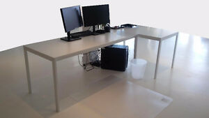 Tables Ikea 69'' x 30'' (6) / 49'' x 30'' (4)