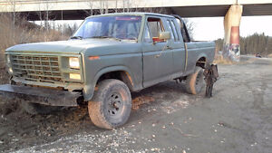 1990 Ford F-150 Pickup Truck parts 3 in body lift