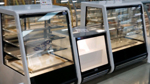Pastry, Bakery cases, Gelato case, Deli, Meat Display counters,