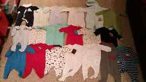 19 baby sleepers, 0-3 months