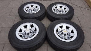 "!! CHEV / GMC TRUCK / SUV FACTORY 17""RIMS & TIRES $1100.00 !!"