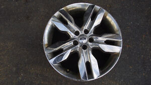 """22"""" claded rims from a 2011 Ford Edge"""