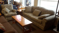Sofa & Chair - Used
