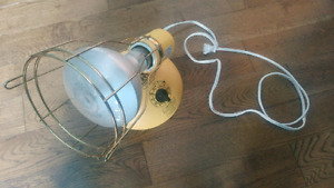 Lampe Bronzage Antique/Retro Canadian General Electic Comme Neuf