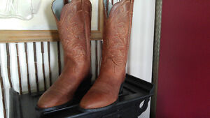 All Leather Cowboy Boots Authentic Nashville Tennessee Kingston Kingston Area image 2