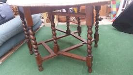 Table for sale some restoration started