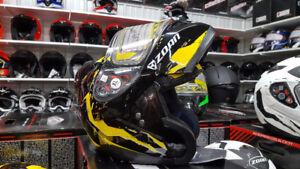 Zoan Optimus Vapor Helmets @ Roy Duguay Sales