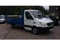 2011 / 11 Plate Mercedes Sprinter 2.1TD 313CDI LWB Drop side / Tail-lift NO VAT
