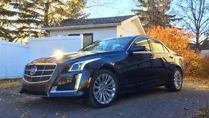 2014 Cadillac CTS Luxury AWD 3.6 Nav Roof Black Diamond