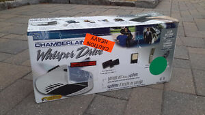 Garage Door Opener - Chamberlain Whisper Drive 1/2 HP Belt Drive