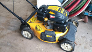 CLUB CADET LAWN MOWER needs motor ,body etc   perfect