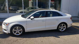 LEASE TAKEOVER / 2016 Audi A3 / LOW KMs 18.5 K / $396.15 + tx