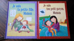 2 brand new French books, great as gifts