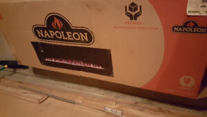 """Napoleon 60"""" Linear Electric Fireplace Insert *BRAND NEW IN BOX*"""
