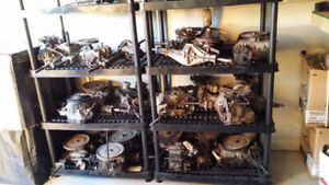 assorted transmissions for lawn tractors for sale!