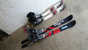 2 Sets of down hill skis