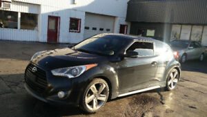 2013 Hyundai Veloster TURBO Navigation Loaded 6 Speed Certified!