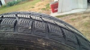 Snow tires used 1 season. In mint conditions