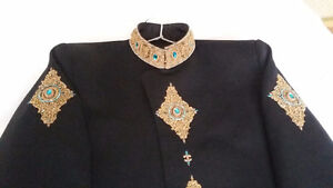 Pakistani / Indian Clothes (Sherwani, Turban & Khussa)