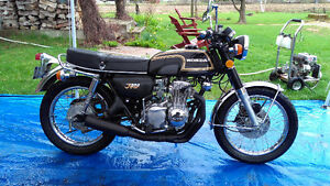 beautiful honda cb350f cb350 four cb 350 f 1974.