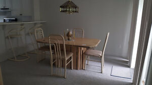 Dining Table, Chairs & Hutch/Buffet - Custom Made