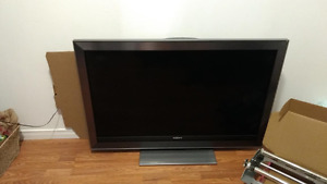 "Sony 46"" TV and stand"