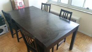 Moving sale - Dining table set, couch