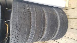 195-50-R16 pneux d'été en tres bonne condition
