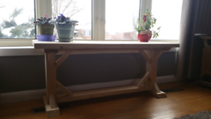 Rustic Style Coffee Table/Bench