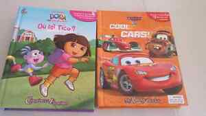 Dora and cars busy books