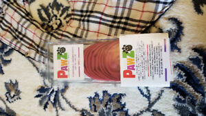 EUC Dog jacket and Pawz reusable boots -small