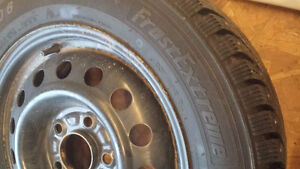studded winter tires 195/65R 15