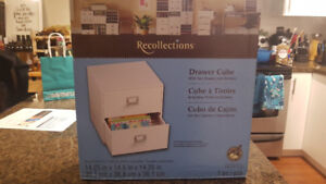 Reflections 2 Drawer Storage Cube - New in Box