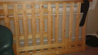 New Single Pine Bed Frame
