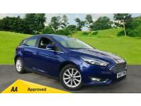 2017 Ford Focus 1.0 EcoBoost 125ps Titanium 5d Manual Petrol Hatchback