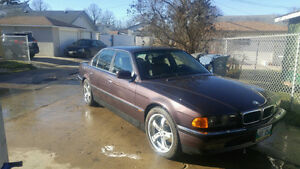 LUXURY AT ITS FINEST 95 BMW740il for tractor or quad