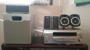 Sony & PIONEER VSX-D412 Home Theater 5.1