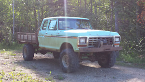 79 Ford F250 supercab 4x4