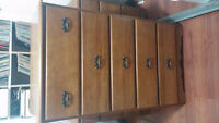 dresser and bedroom set-all solid maple