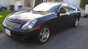 Infiniti G35 2004 luxury édition