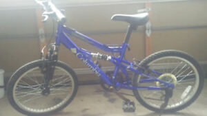 Youth blue Columbia Convoy bike, 6-speed, 20""