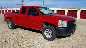 "2011 Chevrolet Silverado 1500  PICK UP EXT/CAB. 4X4   ""SAFETIED"""
