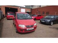 2004 / 04 Fiat Idea 1.4 16V DYNAMIC 5 Door Part Ex Clearance+Long MOT