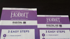 2 downloadable hobbit movies
