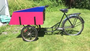 Joli vélo triporteur à vendre