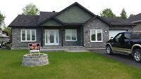 BEAUTIFUL 3 YEAR OLD BRICK AND SIDING BUNGALOW