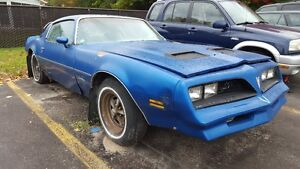 1978 FIREBIRD FORMULA!!! PROJECT CAR