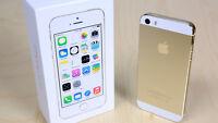 Unlocked iPhone 5S 32GB GOLD